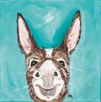 Mr. Donkey Fine Art Print