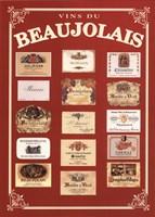 Vins de Beaujolais Fine Art Print