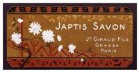 Japtis Savon Fine Art Print