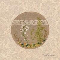 Frolic in the Forest - Stitchery Fine Art Print