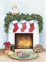 Night Before Christmas V Fine Art Print