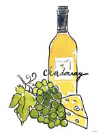Wine Time IV Chardonnay Fine Art Print