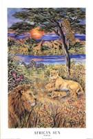 African Sun Fine Art Print
