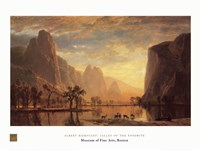 Valley of the Yosemite Fine Art Print