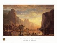 Valley of the Yosemite Fine Art Print