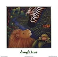 Jungle Love I Fine Art Print