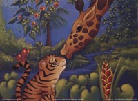 Jungle Love II Framed Print