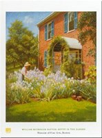 Betty in Garden Fine Art Print