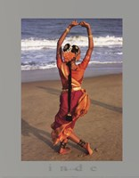 dortes - Indian Dancer Fine Art Print
