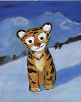 Little Tiger Fine Art Print