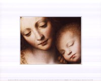 Madonna & Child Framed Print