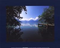 Lac D'annecy Fine Art Print