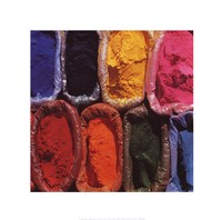 Pigments Fine Art Print
