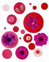 Red Spots Framed Print