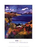 Coast of Saint-Jean & Saint-Barthele Fine Art Print