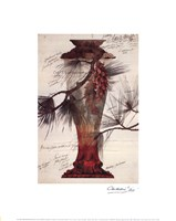 Model of a Crystal Vase Fine Art Print