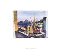 Landscape at Hammamet Fine Art Print