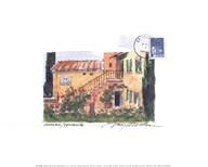 Provence Garden  Fine Art Print