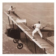 Tennis on the Wing  Fine Art Print