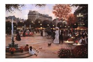 Parisian Promenade Art
