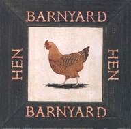 Hen  Fine Art Print
