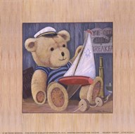Sailboat Teddies  Fine Art Print