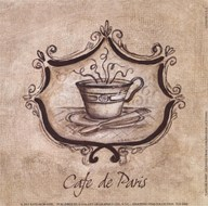 Cafe De Paris Art