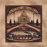Taj Mahal Art