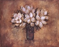 Antique Magnolia I Art
