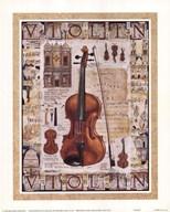 Violin  Fine Art Print