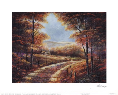 Framed Fall Splendor Print