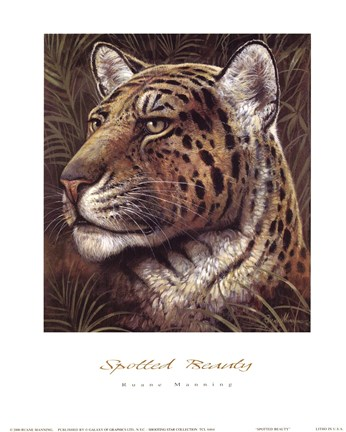 Framed Spotted Beauty Print