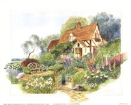 Cottage on the Hill  Fine Art Print