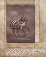 Zebra Odyssey Art