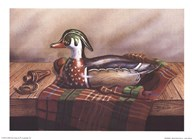 Wood Duck Decoy  Fine Art Print