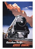 Canadian Pacific Train 1930 Art