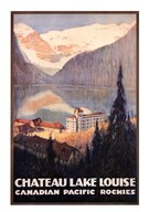 Canadian Pacific-Lake Louise  Fine Art Print