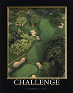 Motivational - Challenge  Fine Art Print