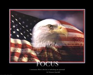 Patriotic-Focus  Fine Art Print