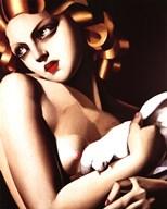 Femme a Colombe  Fine Art Print