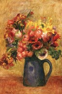 Pitcher Of Flowers Art
