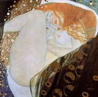 Danae, c.1907  Fine Art Print