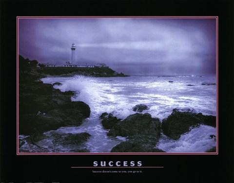 Framed Success - water Print