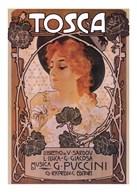 Tosca (woman)  Fine Art Print