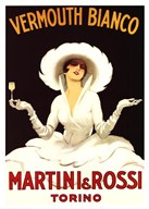 Martini and Rossi Vermouth Bianco Art