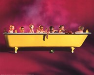 Yellow Tub  Fine Art Print