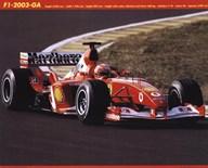Ferrari F1-2003-Ga  Fine Art Print
