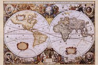 Map of the World (antique style)