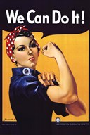 Rosie The Riveter Art
