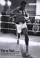 Mohammed Ali Training  Fine Art Print